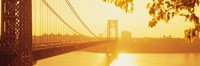 Bridge across the river, George Washington Bridge, New York City Fine-Art Print