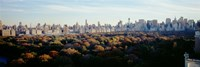 View Over Central Park, Manhattan, NYC, New York City, New York State, USA Fine-Art Print