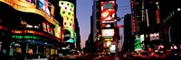 Times Square, New York City at night Fine-Art Print