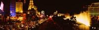 The Strip Lit Up at Night, Las Vegas, Nevada, USA Fine-Art Print