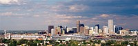 Skyline with Invesco Stadium, Denver, Colorado, USA Fine-Art Print
