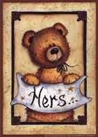 Bear Bottoms - Hers Fine-Art Print