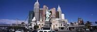 Buildings in a city, New York New York Hotel, The Las Vegas Strip, Las Vegas, Nevada, USA Fine-Art Print