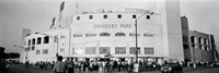 People outside a baseball park, old Comiskey Park, Chicago, Cook County, Illinois, USA Fine-Art Print
