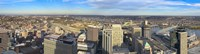 Aerial view of a city, Cincinnati, Hamilton County, Ohio, USA 2010 Fine-Art Print