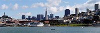 City at the waterfront, Coit Tower, Telegraph Hill, San Francisco, California Fine-Art Print