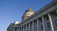Utah State Capitol Building, Salt Lake City, Utah Fine-Art Print