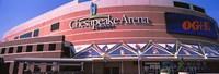 Low angle view of a stadium, Chesapeake Energy Arena, Oklahoma City, Oklahoma, USA Fine-Art Print