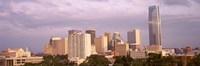 Downtown skyline, Oklahoma City, Oklahoma Fine-Art Print