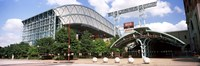 Baseball field, Minute Maid Park, Houston, Texas, USA Fine-Art Print