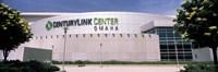 Facade of a convention center, Century Link Center, Omaha, Nebraska, USA Fine-Art Print