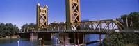 Tower Bridge, Sacramento, CA , USA Fine-Art Print