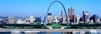 USA, Missouri, St. Louis, Gateway Arch Fine-Art Print