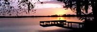 Sunrise Over Lake Whippoorwill, Orlando, Florida, USA Fine-Art Print