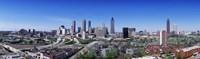 USA, Georgia, Atlanta, skyline Fine-Art Print