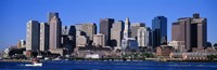 Skyline, Cityscape, Boston, Massachusetts, USA, Fine-Art Print