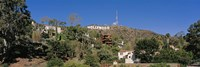 USA, California, Los Angeles, Hollywood Sign at Hollywood Hills Fine-Art Print