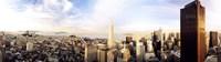 High angle view of a city, Transamerica Building, San Francisco, California, USA Fine-Art Print