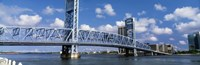 Main Street Bridge, Jacksonville, Florida, USA Fine-Art Print