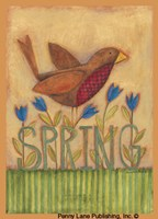 Spring Robin Fine-Art Print