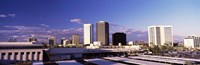 USA, Arizona, Phoenix, Skyline at dawn Fine-Art Print