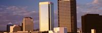 USA, Arizona, Phoenix, Cloudscape over a city Fine-Art Print