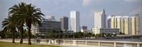 Skyline Tampa FL USA Fine-Art Print