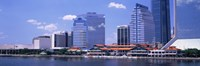 Skyline Jacksonville FL USA Fine-Art Print