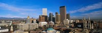Skyline View of Denver Colorado in the Day Fine-Art Print