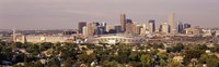 Daytime Photo of the Denver Colorado Skyline Fine-Art Print