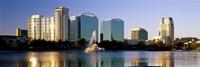 Orlando skyline, Florida Fine-Art Print