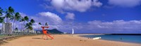 Ala Moana Beach Honolulu HI Fine-Art Print