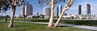 Embarcadero Marina Park, San Diego, California, USA Fine-Art Print