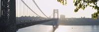 George Washington Bridge in black and white, New York City Fine-Art Print
