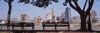 View of Cincinnati OH Fine-Art Print