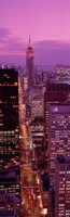 High angle view of a city, Fifth Avenue, Midtown Manhattan, New York City, New York State, USA Fine-Art Print