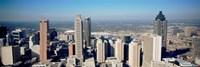 Aerial view of Atlanta skyscrapers, Georgia Fine-Art Print