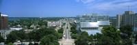 High Angle View Of A City, E. Washington Ave, Madison, Wisconsin, USA Fine-Art Print