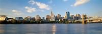 Waterfront Buildings in Cincinnati Fine-Art Print