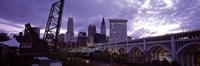 Cleveland, Ohio Bridge and River Fine-Art Print