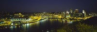 Pittsburgh, Pennsylvania Skyline Fine-Art Print