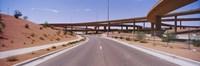 Road passing through a landscape, Phoenix, Arizona, USA Fine-Art Print