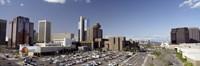 Skyscrapers in a city, Phoenix, Maricopa County, Arizona, USA Fine-Art Print