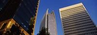 Skyscrapers in a city, Atlanta, Fulton County, Georgia Fine-Art Print