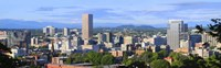Portland skyline, Oregon Fine-Art Print