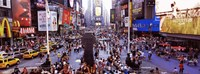 People in a city, Times Square, Manhattan, New York City, New York State, USA Fine-Art Print