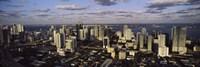 Clouds over the city skyline, Miami, Florida Fine-Art Print
