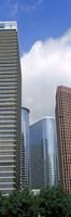 Wedge Tower, ExxonMobil Building, Chevron Building, Houston, Texas Fine-Art Print