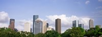 Wedge Tower, ExxonMobil Building, Chevron Building, Houston, Texas (horizontal) Fine-Art Print