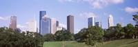 Downtown skylines, Houston, Texas Fine-Art Print